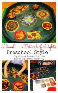 Diwali Rangoli Patterns Preschool Art Learning and Exploring Through Play: Diwali Rangoli Patterns Preschool Art
