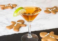 Structural Gingerbread House Dough Recipe Pomegranate Liqueur, Pear Vodka, Citrus Vodka, Homemade Gingerbread House, Gingerbread Dough, Vodka Martini, Vodka Cocktails, Christmas Cocktails, Holiday Drinks