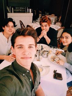Cole with KJ Apa | Sprousefreaks