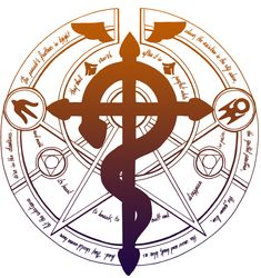 transmutation circle | Transmutation circle by Ptiyokai