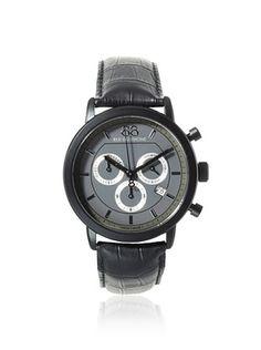 23% OFF 88 Rue du Rhone Men's 87WA130017 Black/Grey Stainless Steel Watch