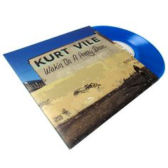 Another great record from Kurt Vile. This time on bright blue vinyl!
