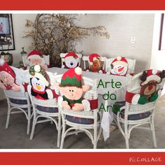 Christmas Chair, Christmas 2016, Christmas Stockings, Christmas Crafts, Xmas, Christmas Ornaments, Advent Calendar, Snowman, Quilts