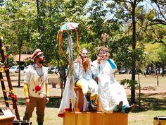 Espetáculos de teatro a céu aberto e com entrada totalmente Catraca Livre chegam a São Paulo.