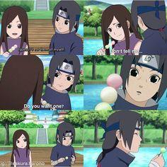 Izumi and Itachi esta parte es muy adorable . Hinata, Sasuke Sakura Sarada, Sasuke And Itachi, Naruto E Boruto, Anime Naruto, Naruto And Sasuke, Kakashi, Naruto Couples, Naruto Girls