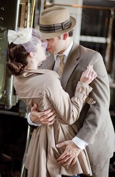 Inspired by This Vintage Railroad Inspired Engagement Shoot | Inspired by This Blog