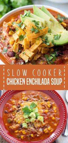 Slow Cooker Soup, Slow Cooker Chicken, Slow Cooker Recipes, Cooking Recipes, Crockpot Recipes, Vegan Bowl Recipes, Soup Recipes, Dinner Recipes, Dinner Ideas