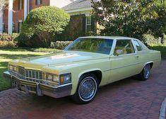 1977 Cadillac Coupe DeVille Cadillac Ats, Cadillac Eldorado, Cadillac Escalade, Counting Cars, American Classic Cars, General Motors, Custom Cars, Jaguar, Luxury Cars