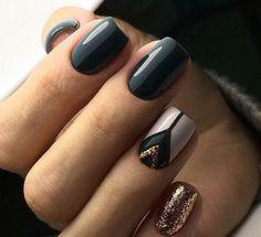How to choose your fake nails? - My Nails Latest Nail Art, Trendy Nail Art, Stylish Nails, Classy Nails, Aztec Nails, Chevron Nails, Acrylic Nail Designs, Acrylic Nails, Aztec Nail Designs
