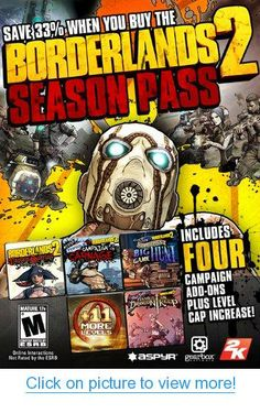 The Borderlands 2 Season Pass [Online Game Code] Mac Games, News Games, Video Games, Tiny Tina, Big Game Hunting, Borderlands 2, Playstation Portable, Video Game Reviews, Game Codes