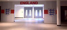 Wembley Tunnel Wembley Stadium, England, English, British, United Kingdom