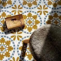 Vous voulez créer un joli décor avec le sol vinyle imitation carreau de ciment? C'est facile - inspirez-vous avec nos propositions en photos!