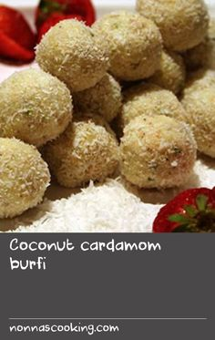 This recipe is a simple and quick cheat's version of the reduced-milk sweet burfi. This is a lovely end to an Indian feast and is often served at special occasions. Coconut Recipes Indian, Indian Food Recipes, Milk Recipes, Pistachio, Coconut Milk, Special Occasion, Sweet Treats, Vegetarian, Yummy Food