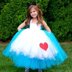 """Alice in Wonderland"" Kids Costume <3!"
