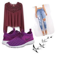 """""""Untitled #515"""" by heden-fun ❤ liked on Polyvore featuring MANGO and NIKE"""