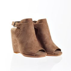 Mosey Taupe, $105, now featured on Fab.