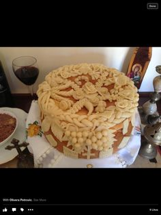 Festive Bread, Holiday Bread, Christmas Bread, Pies Art, Decadent Food, Bread Art, Food Decoration, Cake Decorating Techniques, Pie Dessert