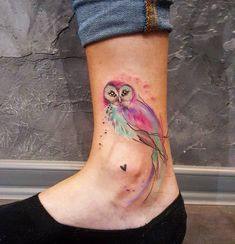 20+ Adorable Small Owl Tattoo Ideas #TattooIdeasDibujos