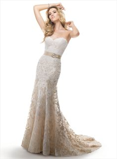 Editor's Picks: The Best of Maggie Sottero Wedding Dresses - love the lace and shape of this dress