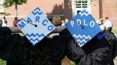 Image result for bff graduation hats