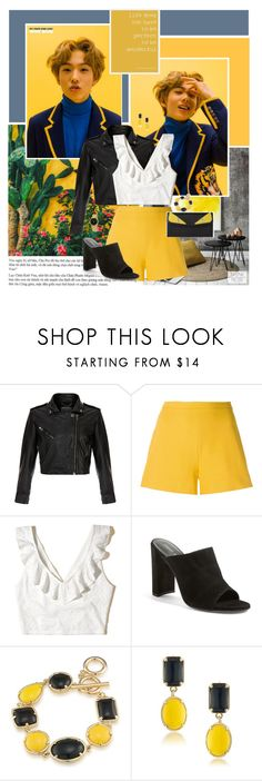 """""""No second chances you are my last love"""" by angiielf ❤ liked on Polyvore featuring MuuBaa, Giambattista Valli, Hollister Co., Stuart Weitzman, Fendi, 1st & Gorgeous by Carolee, Marc by Marc Jacobs, kpop, kpopboys and jisung"""