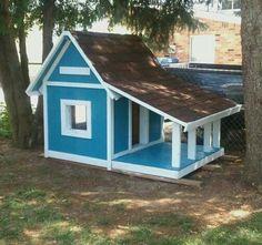 DIY Dog House Finished Project