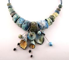 Necklace  free shipping  hand made sculpture like by MegiMikos, $98.00