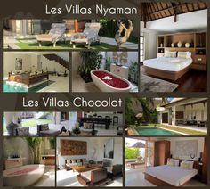 Les Villas Nyaman & Chocolat - Une Seule et Unique Motivation : vous faire partager une expérience unique de luxe et d'intimité.