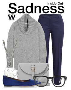 """""""Inside Out"""" by wearwhatyouwatch ❤ liked on Polyvore featuring Jil Sander Navy, Sonia Rykiel, Marc by Marc Jacobs, Meli Melo, Tabitha Simmons, Madewell, disney, wearwhatyouwatch and film"""