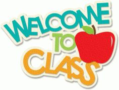 Silhouette Design Store - View Design #46468: welcome to class
