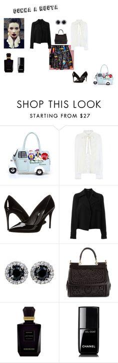 """gonna a ruota"" by mazzagliadavide on Polyvore featuring moda, Braccialini, Dolce&Gabbana, Theory, Keiko Mecheri e Chanel"
