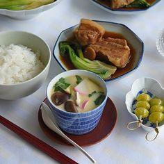 連載冨田ただすけさんの旬の献立 Vol.12-肉料理とも合う蕎麦猪口で作る茶碗蒸し