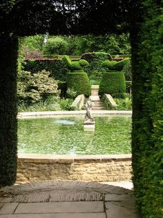 Hidcote Manor topiaries