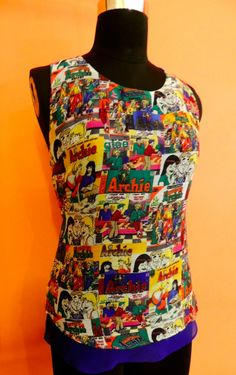 Archies Racer Back Vest at Tiara By Roshini Shah - For all you Archies fans! <3
