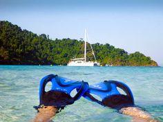 Sail, snorkel, scuba, swim, sun..... ahhhh... it's tough in Thailand !