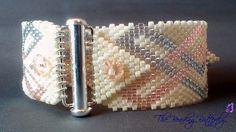 Modello di celtico corda bracciale Peyote - Download digitale