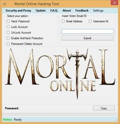 Mortal Online is rather unknown first person fantasy MMORPG. Since not many people play it, it's developers didn't pay much attention to security of this game, and therefore most of account variables are stored in client side instead of server side, allowing us to change them. This Mortal... https://hacksource.net/mortal-online-hack/