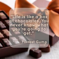 analysis methaphor life like box chocolates Analysis of the methaphor life is like a box of chocolates life is manage a concussion of javas at first glance the give ear emotional state is like a box of chocolates appears or else silly.