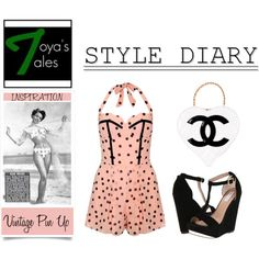 My Style Diary - Pin Up Style, created by latoyacl on Polyvore