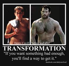 Daily Healthy Recipes and Online Fitness Training: Henry Cavill's Man Of Steel Superman Workout Training Program Revealed!