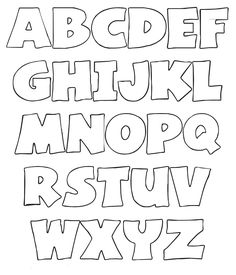 Wal Artesanal o site do feltro: Alfabetos