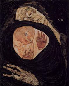 Egon Schiele - Dead Mother, 1910