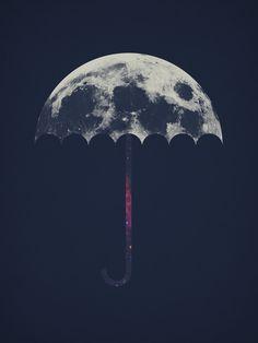 'Space Umbrella' by Filiskun