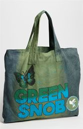 Love This Planet 'Green Snob' Canvas Tote