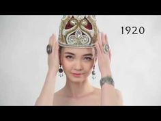 Real Women - Beauty Through The Decades The Realistic Way - YouTube