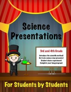 $$$ Science presentation for students and by students. Complete packet to create a year long program where students are the stars of the show.