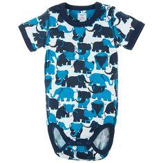 Summer Safari Baby Bodysuit