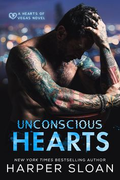 Reading Between the Wines Book Club: #CoverReveal of Unconscious Hearts by Harper Sloan