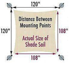 Sun shade sail installation tips. - Outdoor Shade - Ideas of Outdoor Shade - Sun shade sail installation tips. Deck Shade, Backyard Shade, Sun Sail Shade, Outdoor Shade, Canopy Outdoor, Pergola Shade, Shade Garden, Backyard Patio, Shade House