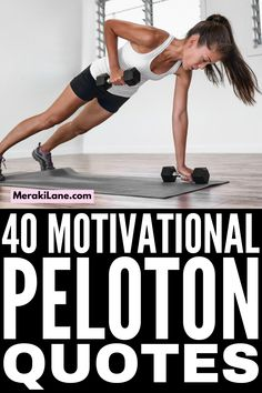 40 Peloton Quotes | From indoor cycling, running, and power walking workouts, to strength training and body weight exercises, to yoga, pilates, barre, and stretching, Peloton offers tons of at home workouts for beginners and beyond. We've compiled our favorite workout motivation quotes from our favorite instructors, including Jess Sims, Cody Rigsby, Emma Lovewell, Alex Toussaint, Robin Arzon, Ally Love, Kendall Toole, Christine D'Ercole, Denis Morton, Matt Wilpers, and more! Beginner Workout At Home, Workout For Beginners, At Home Workouts, Walking Workouts, Walking Exercise, Workout Motivation, Motivation Quotes, Robin Arzon, Love Moves